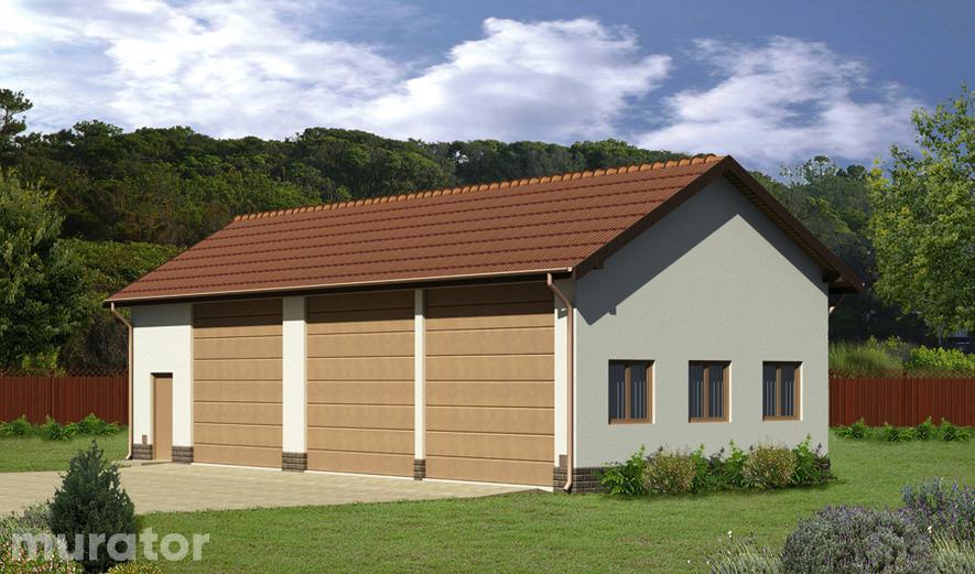 GMC48 Budynek garażowo-magazynowy