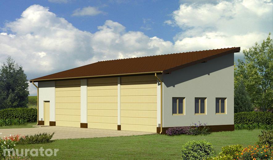 GMC48a Budynek garażowo-magazynowy GMC48a