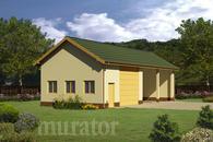 GMC48c Budynek garażowo-magazynowy z wiatą