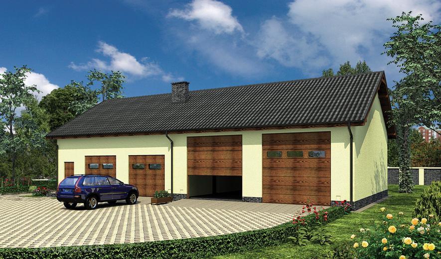 GMC52 Budynek garażowo-magazynowy