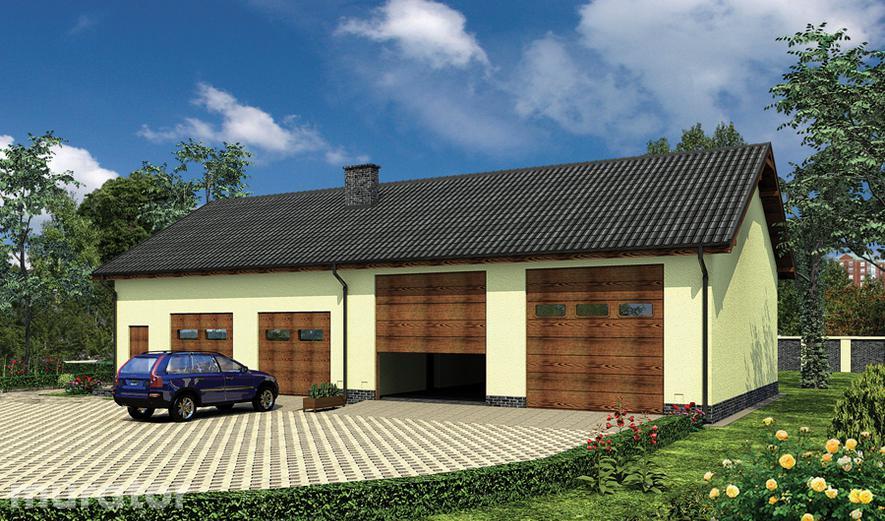 GMC52 Budynek garażowo-magazynowy GMC52