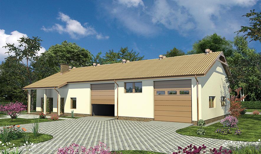 GMC58 Budynek garażowo-magazynowy z częścią socjalno-biurową i mieszkaniem