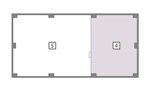 Rzut poddasza POW. 24,6 m²