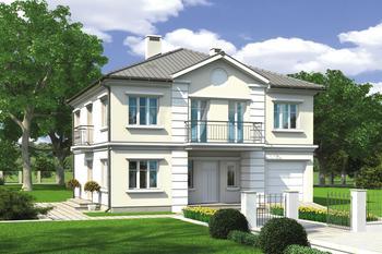 Projekty Domów Piętrowych Z Kolekcji Muratora Strona 2 Murator
