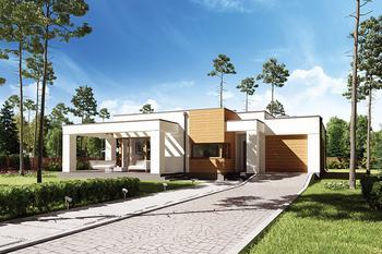 Projekty Domów Z Płaskim Dachem Murator Projekty