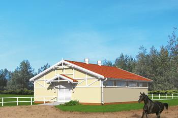 Stajnia dla 6 koni S03
