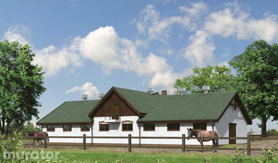 S11 Stajnia dla 13 koni z poddaszem gospodarczym