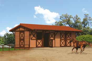 Stajnia dla 4 koni