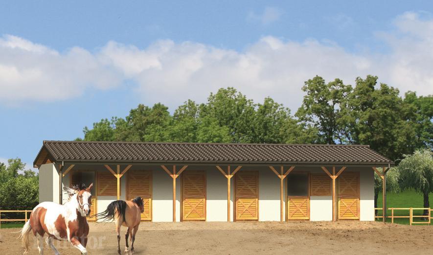 S14 Stajnia dla 6 koni