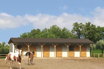 Stajnia dla 6 koni S14