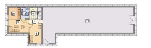 Rzut poddasza POW. 176,1 m²