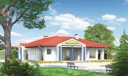 Budynek usługowy (punkt opieki przedszkolnej)