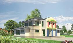 Budynek usługowy z częścią mieszkalną (punkt opieki przedszkolnej)