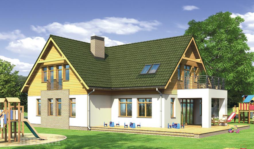 U25 Budynek usługowy z częścią mieszkalną (punkt opieki przedszkolnej)