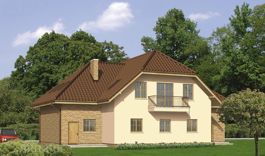 UC09 Budynek usługowy z częścią mieszkalną