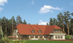 Budynek usługowy z pokojami gościnnymi