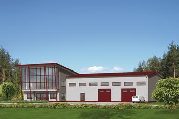 Budynek usługowy UC13