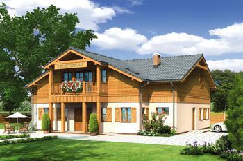 Budynek usługowy (z pokojami gościnnymi)