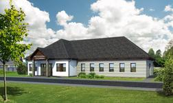 Budynek usługowy (punkt opieki medycznej)