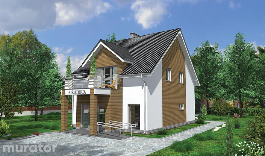 UC48a Budynek usługowy z częścią mieszkalną