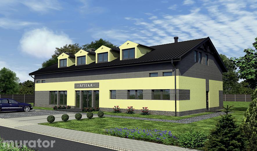 UC52 Budynek usługowy z częścią mieszkalną