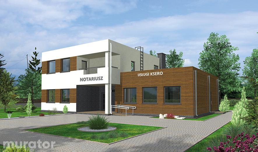 UC66 Budynek usługowy z częścią mieszkalną
