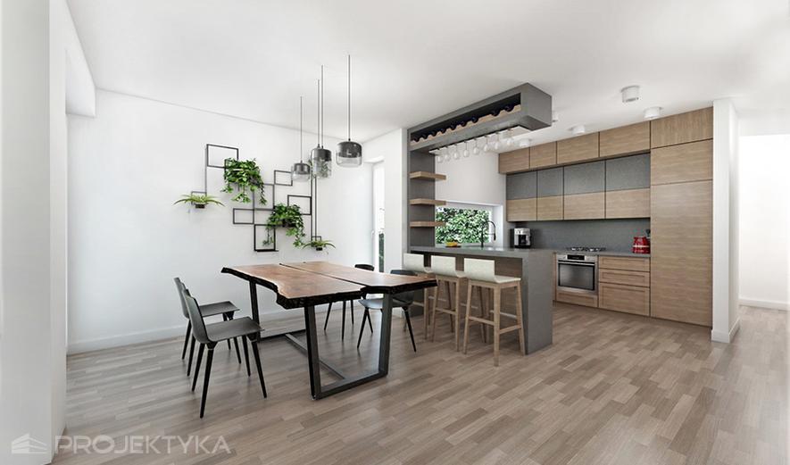 Ka63 Projekt domu Ka63 (dwulokalowy / bliźniak)